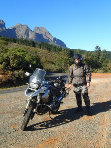 Vince in South Africa Garden Route